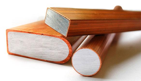 Copper-clad Aluminum (CCA)Bimetal Busbar1.png